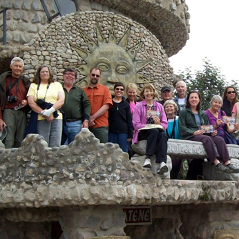 Sierra Club Group at Inti Ñan in-situ museum, Quito, Ecuador